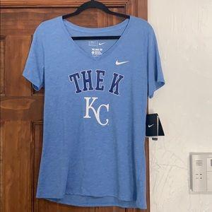 NWT Nike KC Royals shirt